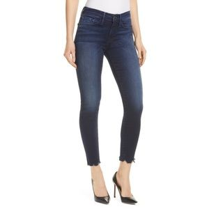 Frame Le Skinny Shelby Chew Hem Ankle Jeans—25